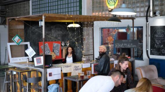 Bookbox in Rock for Autism 2018 a Novara