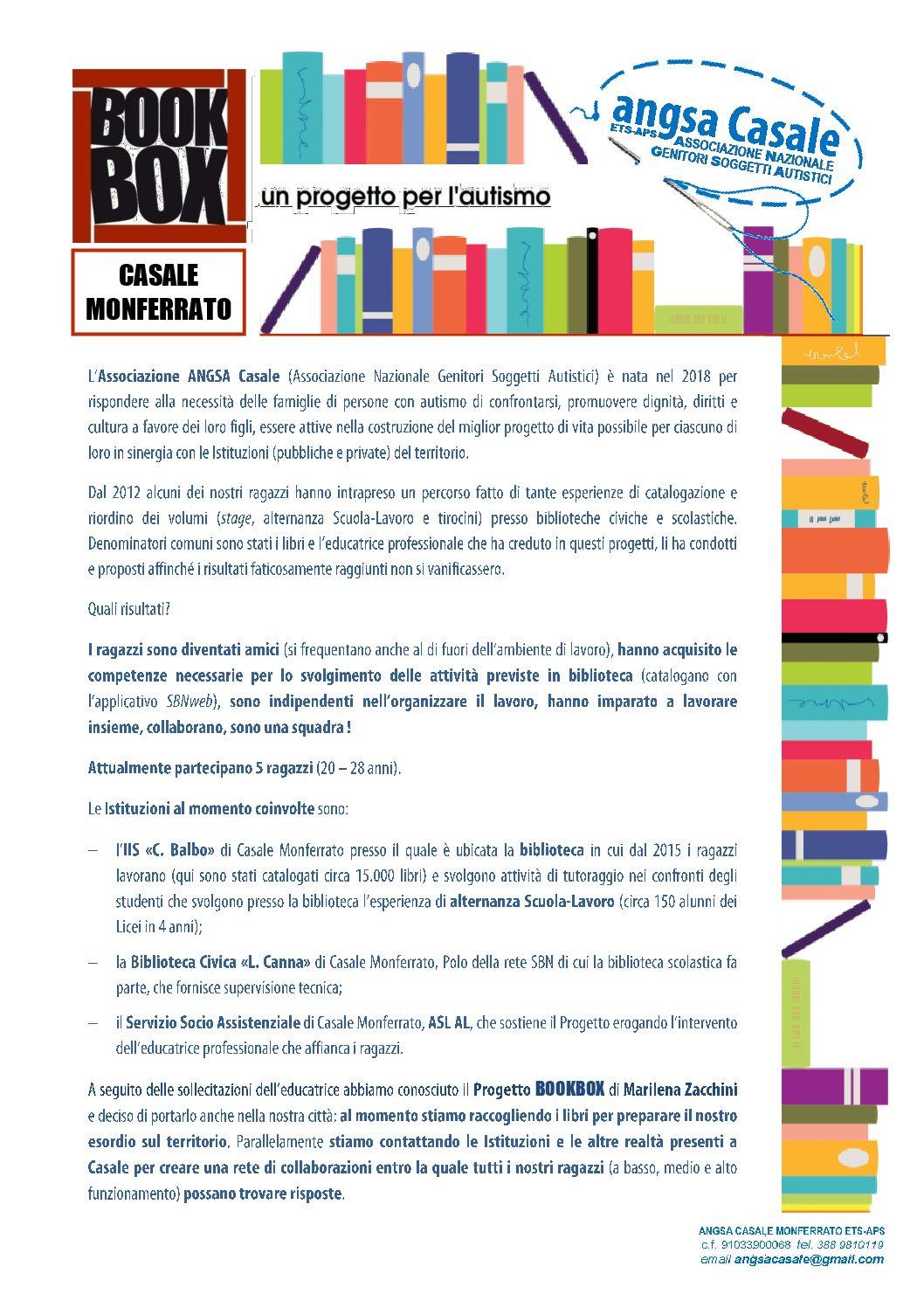BOOKBOX a Casale Monferrato