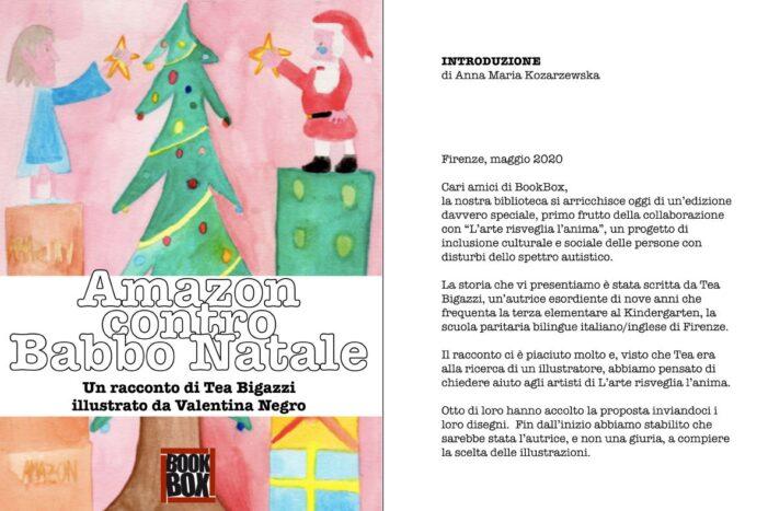 """BookBox e L'arte Risveglia l'Anima presentano il Libro """"Amazon contro Babbo Natale"""""""