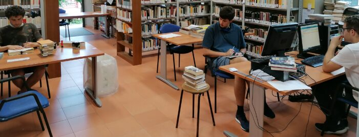 estate in biblioteca !
