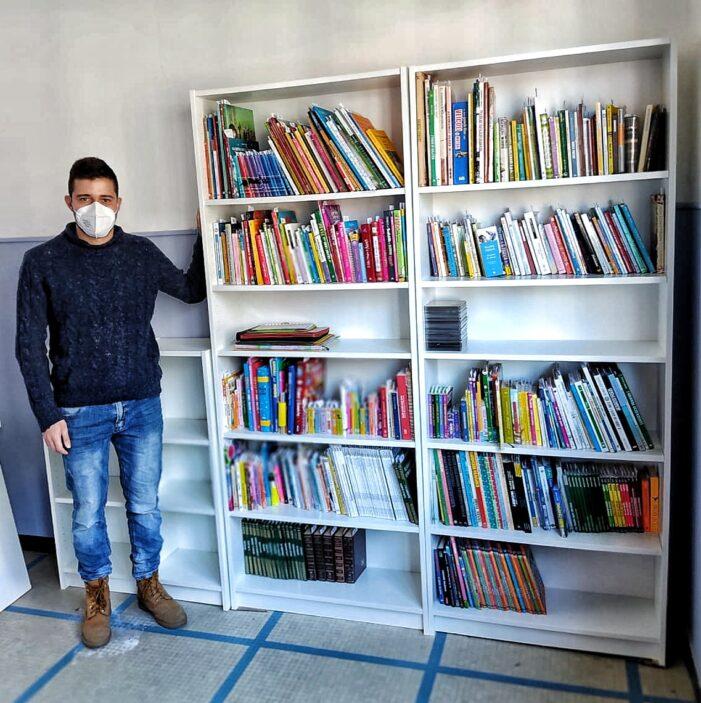 Catalogati i primi 500 libri a Savona